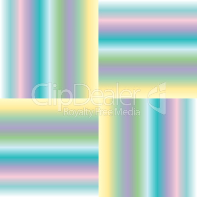 pastel stripes extended