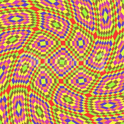 squares swirl texture