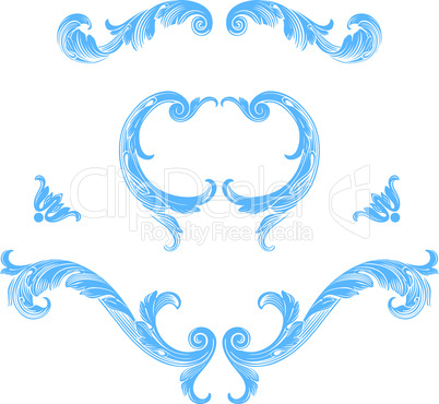 Decoration vector