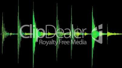Drum loop: live drums, hi-hat, bassdrum and snare