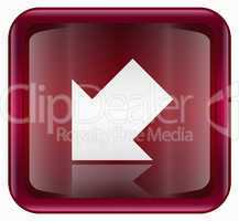 Arrow icon red