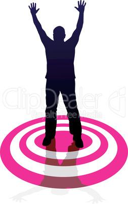 Target - man