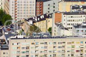 Blocks of Flats in Warsaw
