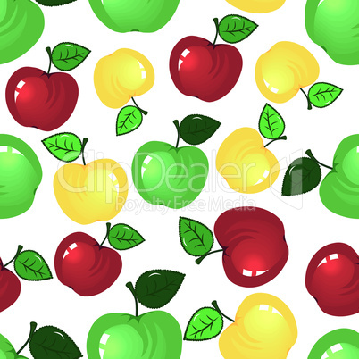 Apple seamless background.