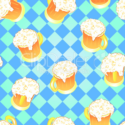 Oktoberfest background.