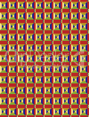 Arabic  Style Colorful Seamless Pattern background 025-BGRD.EPS