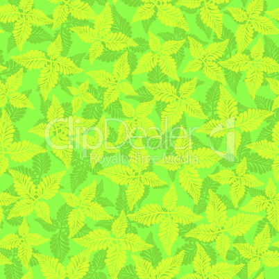 Seamless background pattern. Floral vintage wallpaper. Autumn filigree tile.