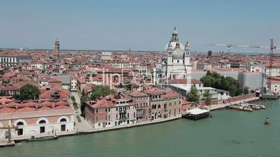 Venice St Marks from ship leaving fast TL P HD 1262
