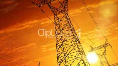 Electric power pylons