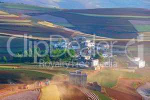 China rural landscape