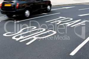 Rushing To Trafalgar Square