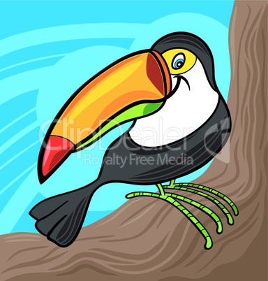 cartoon tucan