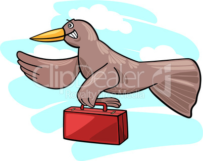 bird migration cartoon