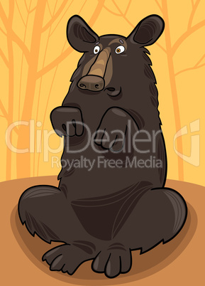 cartoon baribal bear