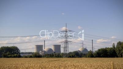 Atomkraftwerk Biblis in Darmstadt