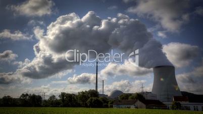 Atomkraftwerk Isar in Niederbayern