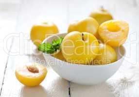 gelbe Pflaumen / yellow plums