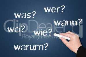 Die 6 W- Fragen