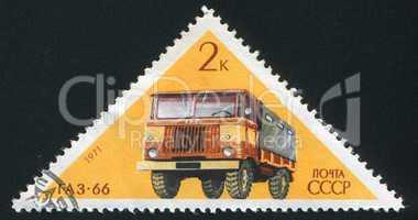 Soviet truck