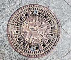Sewer manhole in Berlin