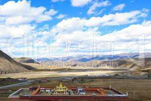 Landscape of western sichuan plateau