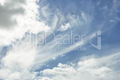 Heavens cloudscape