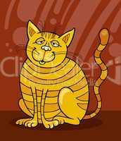 Smiling Yellow Cat