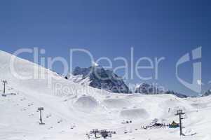 Snowboard park