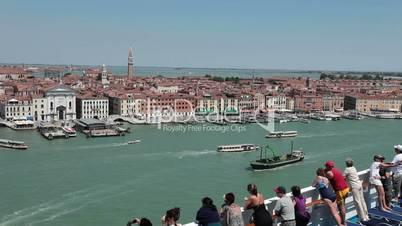 Venice shore from cruise ship P HD 1274