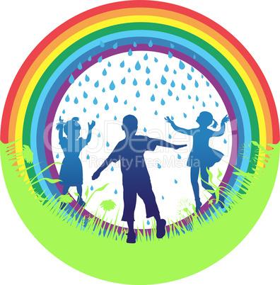 rainbow and childs
