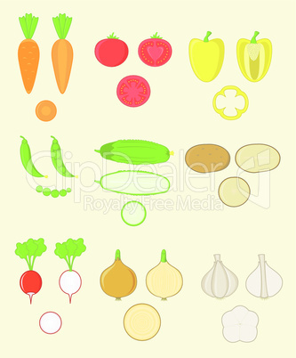 Vegetables Set.eps
