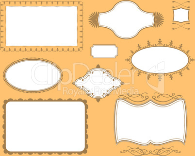Book Cover Plate Frames.eps