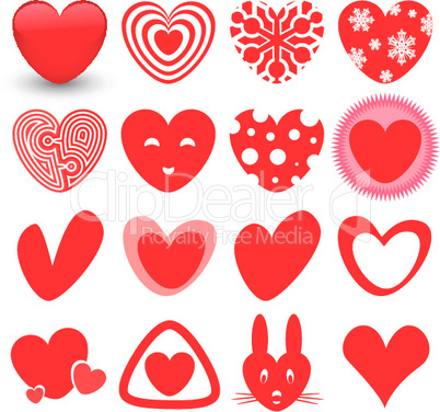 Heart Icons Set.eps