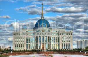 President palace Ak-Orda.