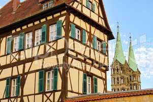 Bamberg Fachwerkhaus - Bamberg half-timber house 02