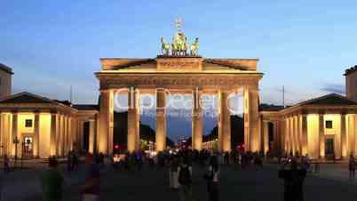 Brandenburger Tor - Zoom In