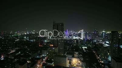 Bangkok  - Time Lapse - Zoom In