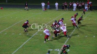 Player Intercepts Football 03