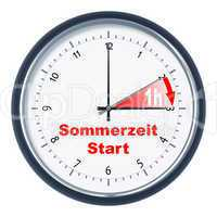 Sommerzeit Start