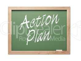 Action Plan Green Chalk Board Series