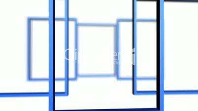 Rotation of 3D Matrix Frame container,door,windows,design,decoration,background,art,picture,space,gallery,blank,pattern,ornamental,