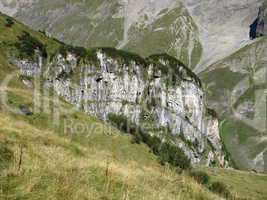 Visible Alpine Folds