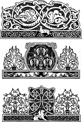 Ornament in the Gothic style