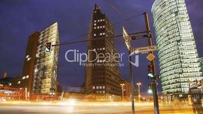 Berlin - Potsdamer Platz by Night