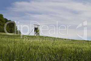 rural scene in south germany