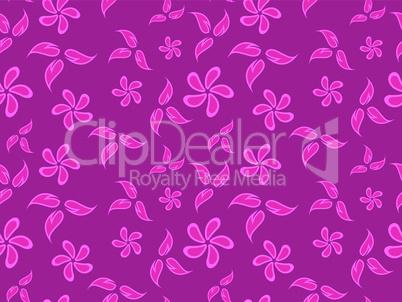 flowers pink pattern