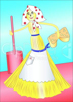 Funny broom