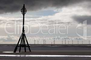 Wind turbines in Mersey