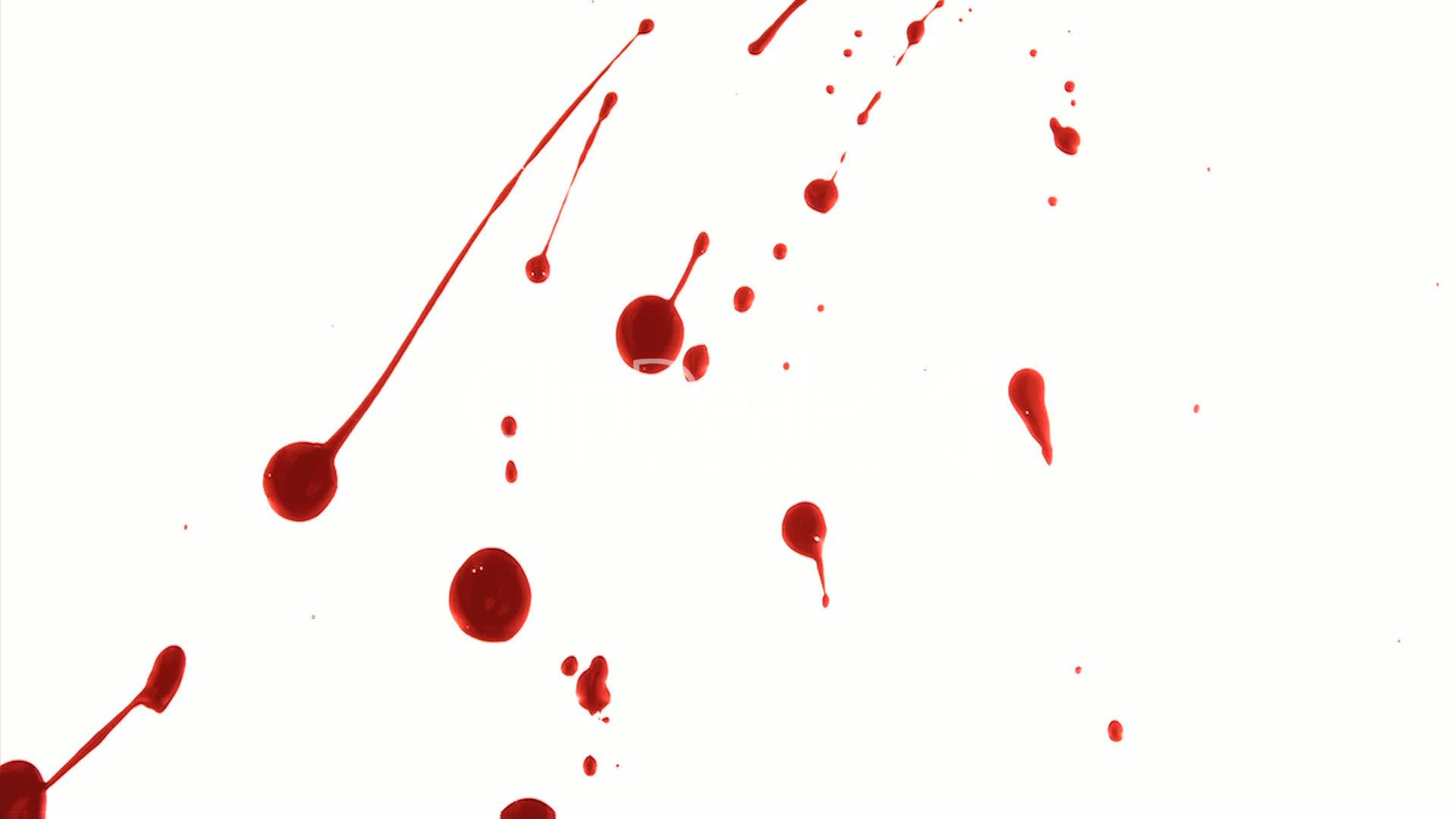 Blood Splatter 2: Royalty-free video and stock footage