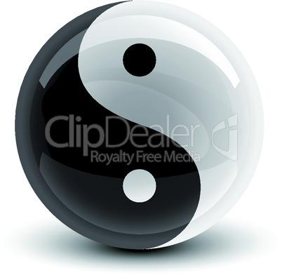 Yin and Yang ball